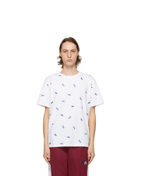 MAISON KITSUNÉ White Puma Edition All Over T Shirt