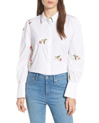 Chelsea28 Embroidered Woven Shirt