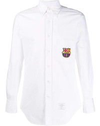 Thom Browne Fcb Classic Embroidery Patch Shirt