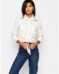 Vero Moda Western Embroidered Shirt