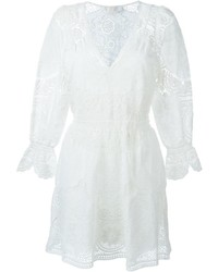 Chloé Crochet Embroidered Dress