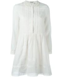 Saint Laurent Longsleeved Embroidered Dress