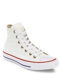 Converse Chuck Taylor All Star Star Embroidered High Top Sneakers