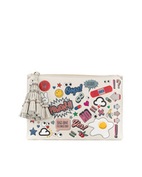 Anya Hindmarch Na Wink Stickers Pouch