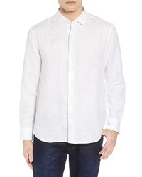 db3899fc97fd Men s White Linen Long Sleeve Shirts by Tommy Bahama