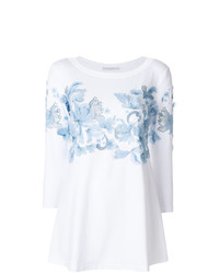 Ermanno Scervino Feathered Blouse