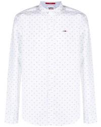 Tommy Hilfiger Embroidered Logo Long Sleeved Shirt