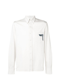 Prada Embroidered Shirt