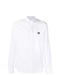 Kenzo Eye Embroidered Shirt