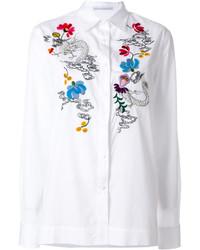 Ermanno Scervino Floral Embroidered Shirt