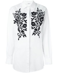 P.A.R.O.S.H. Embroidered Detail Shirt