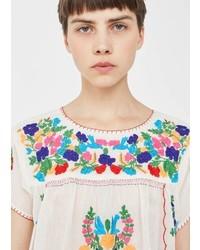Embroidered cotton blouse medium 5255405