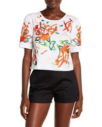 Poplin embroidered blouse medium 5255406