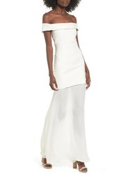Stone_Cold_Fox Stone Cold Fox Fairview Off The Shoulder Gown