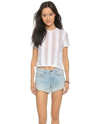 Madewell Lace Crop Top