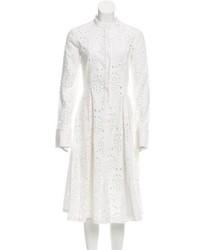 Eyelet midi dress w tags medium 3904321