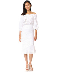Saloni Grace Cotton Dress
