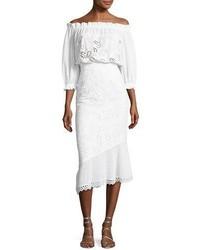 Grace eyelet cotton dress white medium 3746165