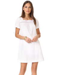 Eyelet shift dress medium 3745333