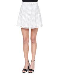 MICHAEL Michael Kors Michl Michl Kors Floral Eyelet Circle Skirt
