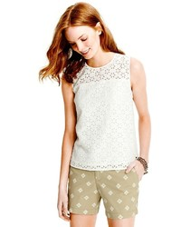 Tommy Hilfiger Final Sale  Eyelet Shell