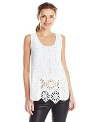 Johnny Was Saige Eyelet Tank