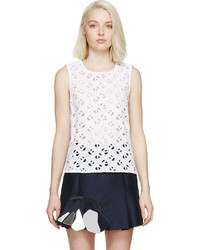 White logo eyelet top medium 224930