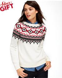 Tommy Hilfiger Fair Isle Crew Neck Sweater