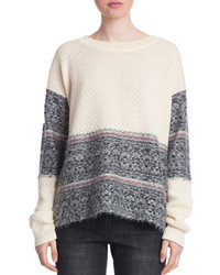 Plenty by Tracy Reese Fair Isle Pullover Sweater
