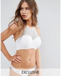 Fuller bust fishnet halter bikini top dd g medium 3764534