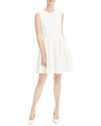 Theory Canvas Fit Flare Dress