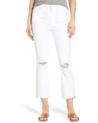 The insider step hem crop bootcut jeans medium 3723284
