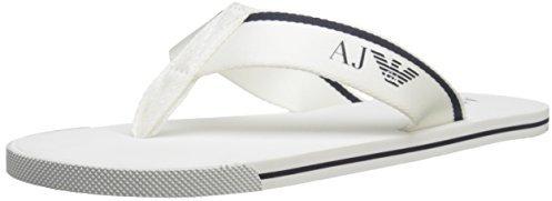 efe6ae5fa8809 Sandal Flip Flop. White Flip Flops by Armani Jeans