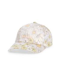 Levi's Floral Cotton Baseball Cap