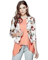GUESS Jacintia Floral Blazer