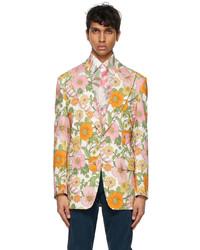 Tom Ford Multicolor Floral Blazer