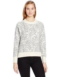 Rebecca Taylor Floral Pullover Sweater