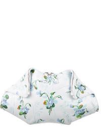 Alexander McQueen Floral De Manta Clutch