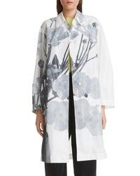 Dries Van Noten Rader Floral Print Cotton Blend Jacket