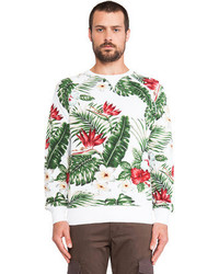 Penfield Koloa Palm Print Sweatshirt
