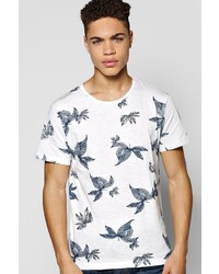 Boohoo All Over Floral Print T Shirt