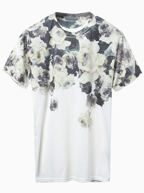 Choies Vintage Floral Print T Shirt Where To Buy How