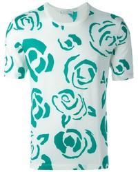 Floral print t shirt medium 703001