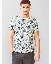 Gap Lived In Floral Pocket T Shirt