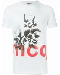 Mcq alexander mcqueen floral print t shirt medium 702999