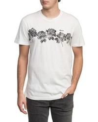 RVCA Oblow Roses T Shirt