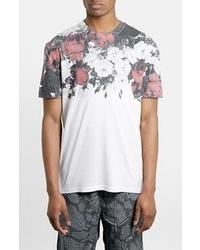 Topman Rose Garden Print T Shirt