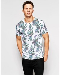 ONLY & SONS T Shirt With All Over Floral Print