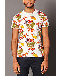 Forever 21 Tropical Print Tee