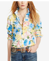 Polo Ralph Lauren Custom Fit Floral Print Shirt